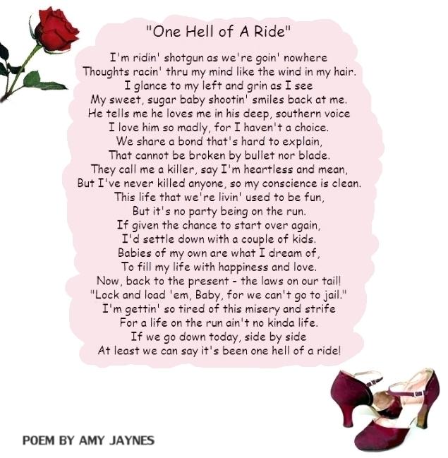 bonnie parkers poems