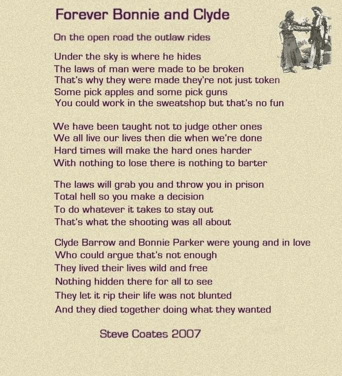 Bonnie Parker\'s poems