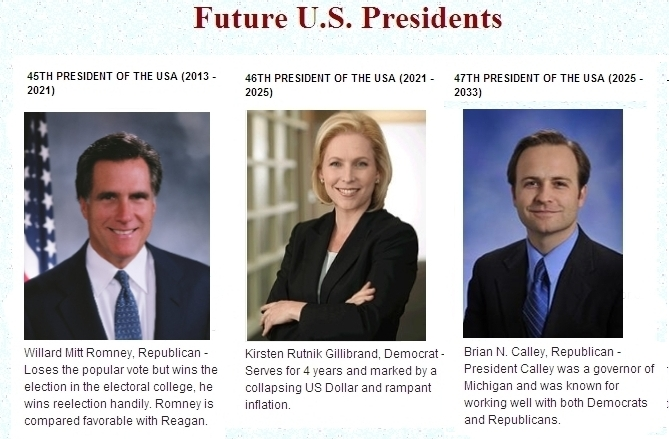 Who Will Be Our Future Presidents General News Comments Green Energy Investors