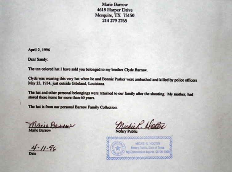 Notary Letter Example | Files In Catalog