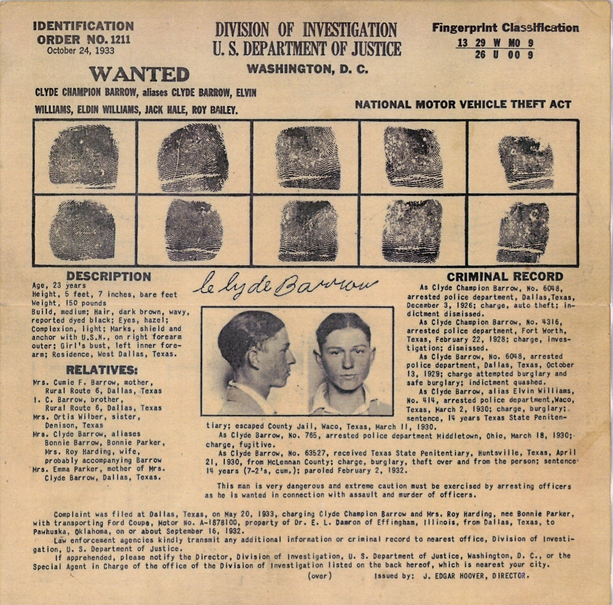 WANTED – Real Wanted Poster