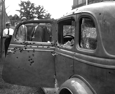 By 1934 Bonnie Parker and Clyde Barrow had led scores of police
